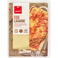 Pams Egg Lasagne Sheets 400g