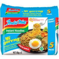 Indomie Mi Goreng BBQ Chicken Instant Noodles 5pk