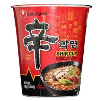 Nongshim Gourmet Spicy Shin Cup Noodle Soup 408g
