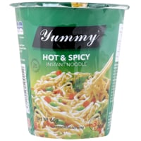 Yummy Hot & Spice Instant Noodles Cup 60g