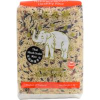 Five Stars Elephant Thai Mixed Grains Rice 1kg
