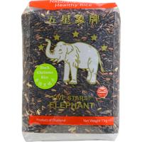 Five Stars Elephant Black Rice 1kg