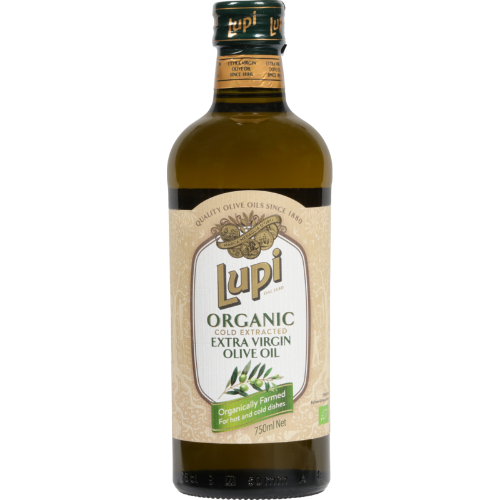 Lupi Organic Cold Extracted Extra Virgin Olive Oil 750ml