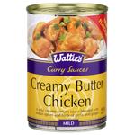 Wattie's Curry Sauce Creamy Butter Chicken Mild 405g