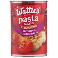 Wattie's Extra Chunky Pasta Sauce Tomato & Roasted Garlic 400g