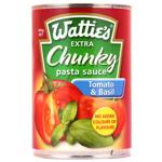 Wattie's Extra Chunky Pasta Sauce Tomato & Basil 400g