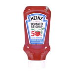 Heinz 50% Less Added Sugar & Salt Tomato Ketchup 500ml