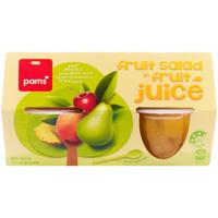 Pams Fruit Salad In Juice Fruit Cup 4pk