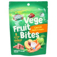 Mother Earth Carrot Apple & Peach Vege Fruit Bites 120g