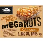 Tasti Mega Nuts Caramel Bars 240g (40g x 6pk)