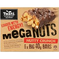 Tasti Mega Nuts Honey Crunch 240g (40g x 6pk)