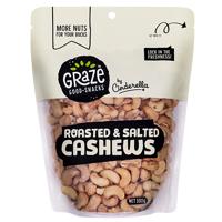Graze Roasted & Salted Cashews 500g