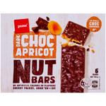 Pams Dark Choc Apricot Nut Bars 6pk