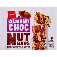 Pams Almond Choc Nut Bars 6pk