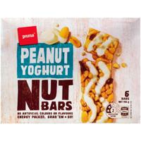 Pams Peanut Yoghurt Nut 6pk