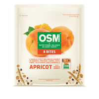 One Square Meal Apricot Manuka Honey Bites 8pk