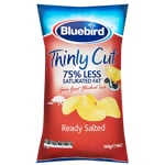 Bluebird Thinly Cut Ready Salted Potato Chips 140g