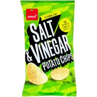 Pams Salt & Vinegar Chips 150g