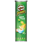 Pringles Sour Cream & Onion Chips 134g