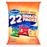 Bluebird Mega Value Original Cut Snack Packs 22pk