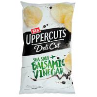 Eta Uppercuts Deli Sea Salt & Balsamic Vinegar Potato Chips 140g