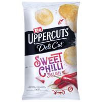 Eta Uppercuts Deli Cut Sweet Chilli Relish Potato Chips 140g