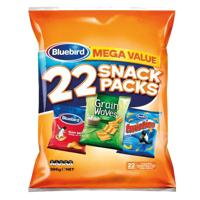 Bluebird Mega Value Mixed Snack Packs 22pk