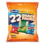 Bluebird Mega Value Mixed Snack Packs 22pk