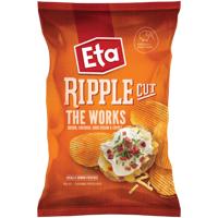 Eta Ripple Cut The Works Potato Chips 150g