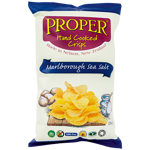 Proper Crisps Hand Cooked Marlborough Sea Salt Potato Crisps 150g