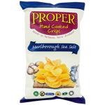 Proper Crisps Hand Cooked Marlborough Sea Salt Potato Crisps 150g