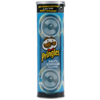 Pringles Salt & Vinegar Potato Chips 134g