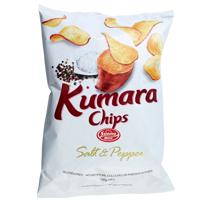 Sunny Hill Salt & Pepper Kumara Chips 120g