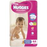 Huggies Ultra Dry Nappies Girls 6-11kg Crawler 44ea