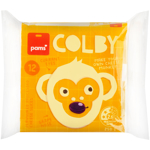 Pams Colby Cheese Slices 250g