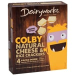 Dairyworks Colby Cheese & Crackers 120g