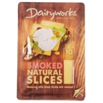 Dairyworks Smoked Cheese Slices 10 Pack 200g