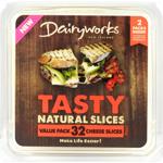 Dairyworks Tasty Natural Slices 500g