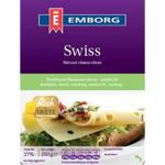 Emborg Swiss Cheese Slices 150g