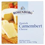 Rosenborg Danish Camembert Cheese 125g