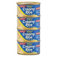 Aunt Betty's Creamy Rice Vanilla Flavoured Dessert 4pk