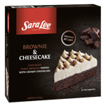 Sara Lee Brownie & Cheesecake 475g