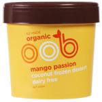 Oob Organic Mango Passion Dairy Free Coconut Frozen Dessert 470ml