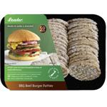 Leader BBQ Beef Burger Patties 50ea