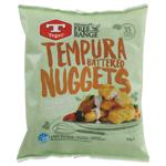 Tegel Free Range Tempura Battered Chicken Nuggets 750g