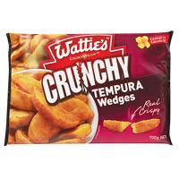Wattie's Crunchy Tempura Wedges 700g