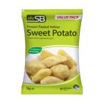 SB Frozen Peeled Yellow Sweet Potato 1kg