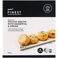 Pams Finest Potato Gratin With Emmental & Cream 400g