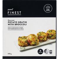 Pams Finest Gourmet Potato Gratin With Broccoli 400g