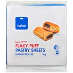 Value Flakey Puff Pastry Sheets 1kg